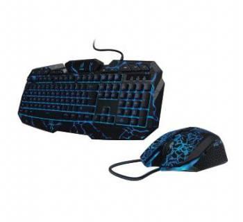 Комплект клавиатура+мышь Hama uRage Illumination черный/черный (R1113768)