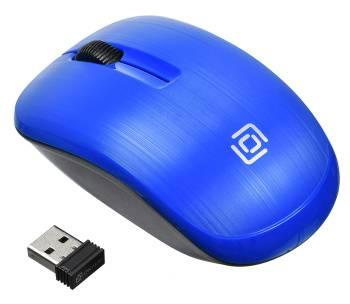 Мышь Оклик 525MW синий (525mw blue)