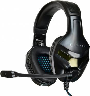Гарнитура игровая Оклик HS-L370G ECLIPSE черный (hs-l370g)
