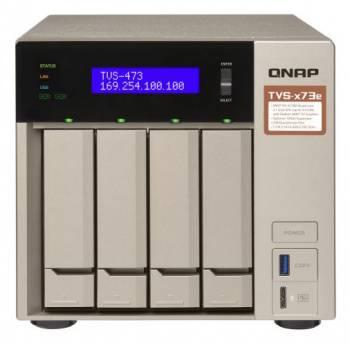 Сетевое хранилище NAS Qnap TVS-473e-8G