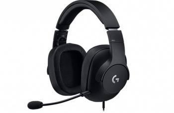 Наушники с микрофоном Logitech PRO черный (981-000721)