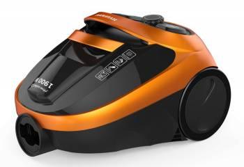 Пылесос Hyundai H-VCC02 оранжевый/черный