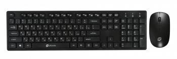 Комплект клавиатура+мышь Оклик 240M черный/черный (240mblack)