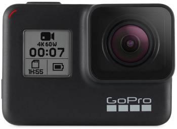 Экшн-камера GoPro HERO7 Black Edition черный (CHDHX-701-RW)