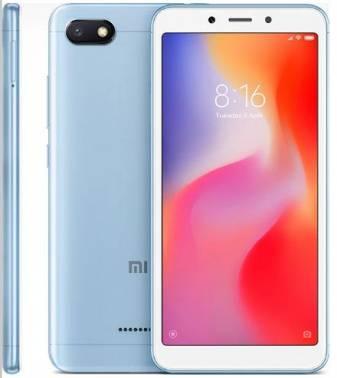 Смартфон Xiaomi Redmi 6A 16ГБ голубой (18987)
