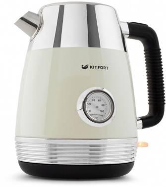 Чайник электрический Kitfort КТ-633-3 бежевый