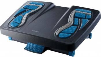 Подставка для ног Fellowes Energizer 80680 черный/синий (FS-80680)