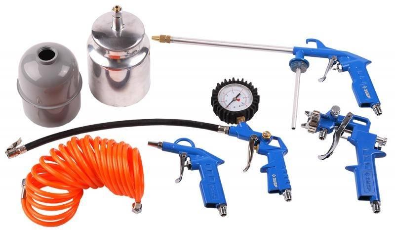 Набор пневмоинструментов Зубр 06458-H5 5 предметов - фото 1