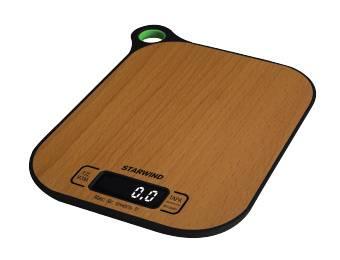 Кухонные весы Starwind SSK2070 бамбук