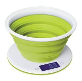 Кухонные весы Starwind SSK5575 белый/зеленый