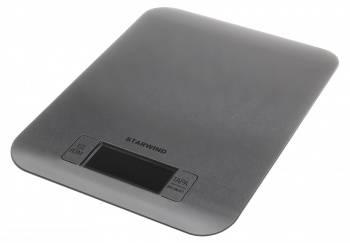 Кухонные весы Starwind SSK6673 серебристый