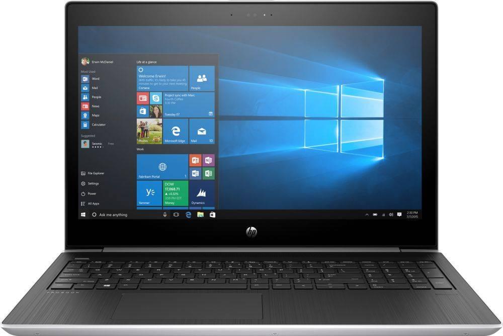 "Ноутбук 15.6"" HP ProBook 450 G5 серебристый (2XZ70ES) - фото 1"