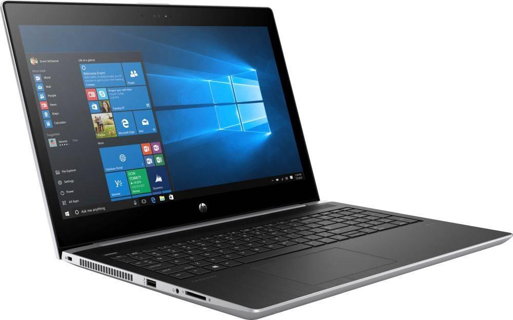 "Ноутбук 15.6"" HP ProBook 450 G5 серебристый (2XZ70ES) - фото 2"