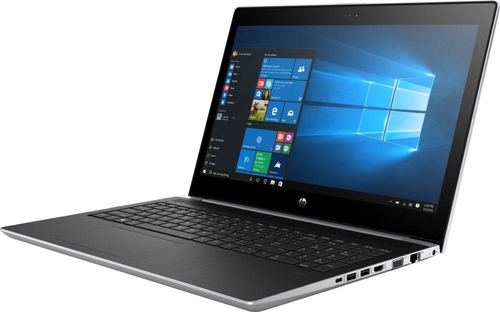 "Ноутбук 15.6"" HP ProBook 450 G5 серебристый (2XZ70ES) - фото 3"