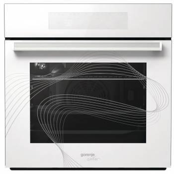 Духовой шкаф электрический Gorenje Karim Rashid BO658KR стекло белое