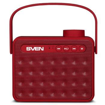 Колонка портативная Sven PS-72 красный