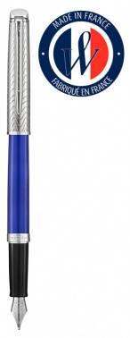 Ручка перьевая Waterman Hemisphere Deluxe Blue Wave CT (2043217)