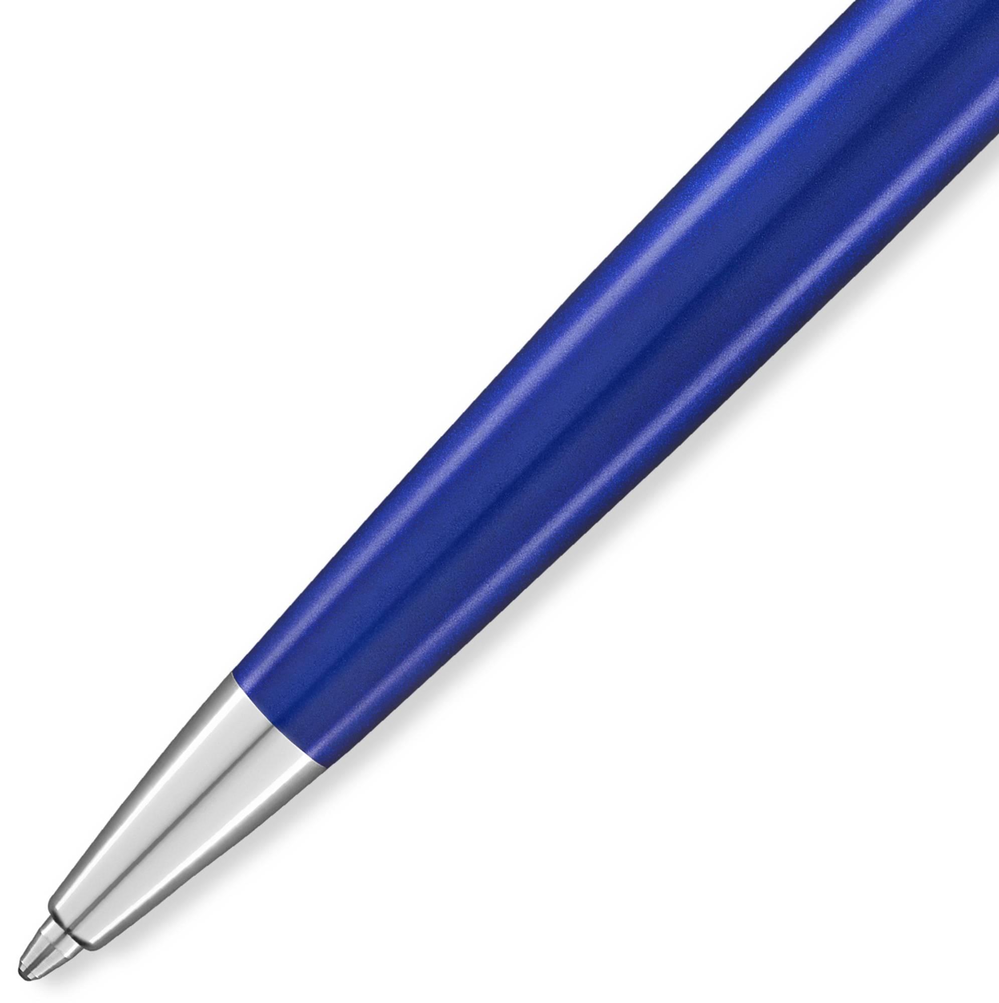 Ручка шариковая Waterman Hemisphere Deluxe Blue Wave CT (2043218) - фото 2