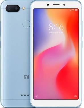 Смартфон Xiaomi Redmi 6 64ГБ синий (19627)