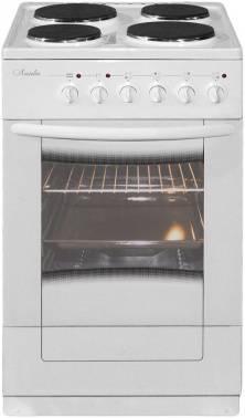 Плита электрическая Лысьва ЭП 403 М2С белый, без крышки