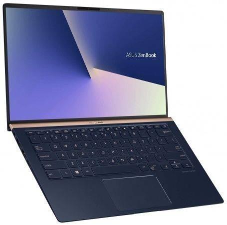 """Ультрабук 14"""" Asus Zenbook UX433FA-A5093T темно-синий (90NB0JR1-M01380) - фото 2"""