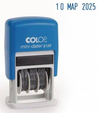 Датер Colop S 120/BL пластик