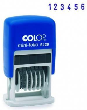 Нумератор Colop S 126 пластик