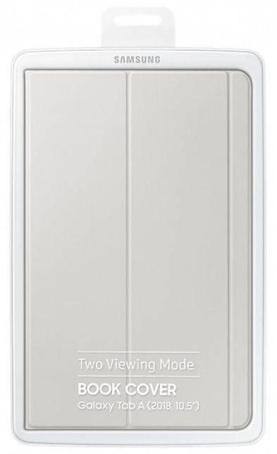 "Чехол Samsung Book Cover, для Samsung Galaxy Tab A 10.5"", серый (EF-BT590PJEGRU) - фото 5"