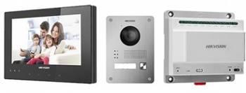 Видеодомофон Hikvision DS-KIS701 серебристый