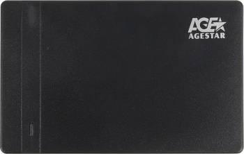 Внешний корпус для HDD/SSD AgeStar 3UB2P3 SATA III черный (3UB2P3(BLACK))