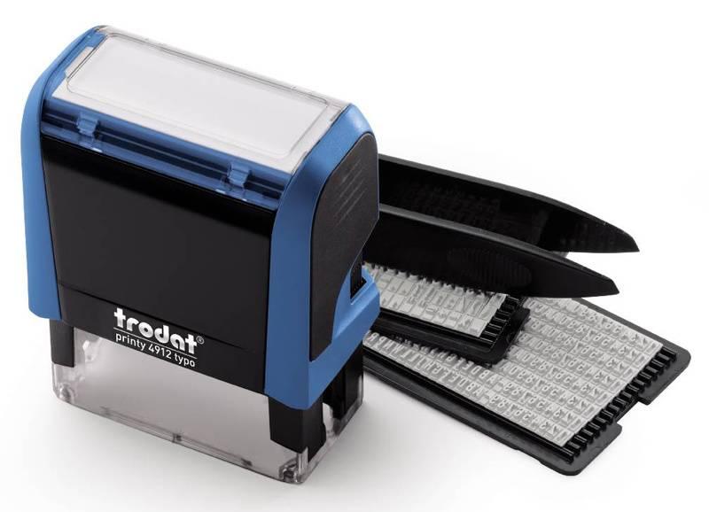 Самонаборный штамп Trodat 4912/DB PRINTY TYPO 4.0 пластик - фото 1