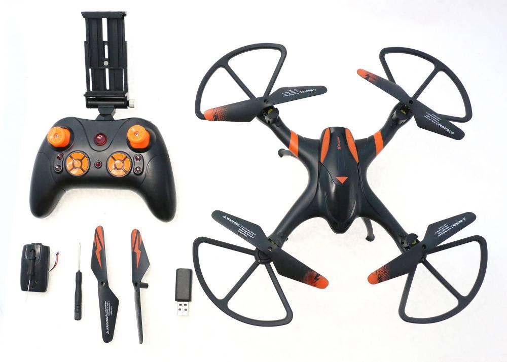 Квадрокоптер AOSENMA X-Drone FPV черный - фото 9
