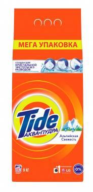 Порошок для стирки Tide Альпийская Свежесть автомат 9кг (81722963)