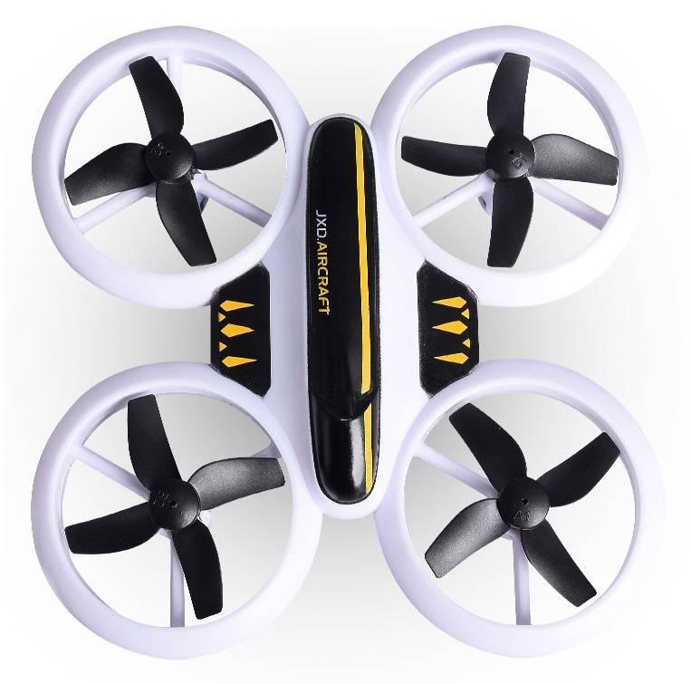 Квадрокоптер JXD Small Neon Drone белый/черный - фото 2