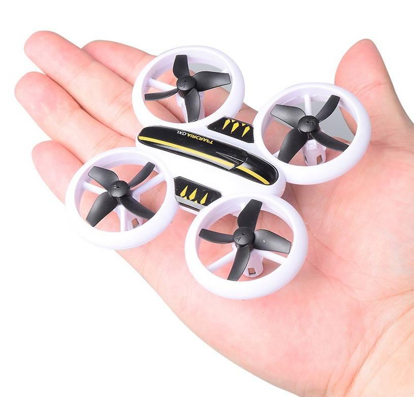 Квадрокоптер JXD Small Neon Drone белый/черный - фото 4