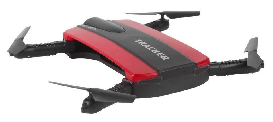 Квадрокоптер JXD Tracker черный/красный - фото 3