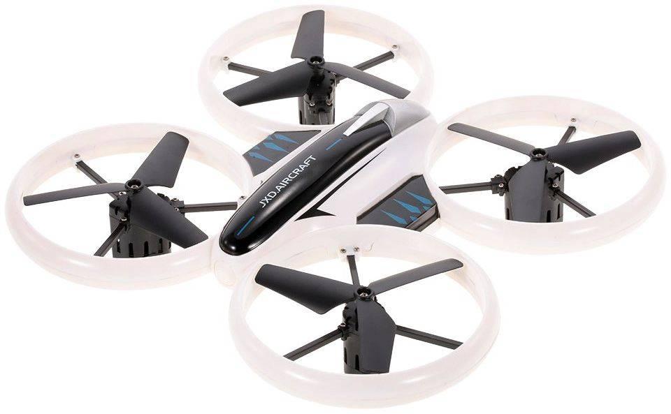 Квадрокоптер JXD Biger Neon Drone белый/черный - фото 1