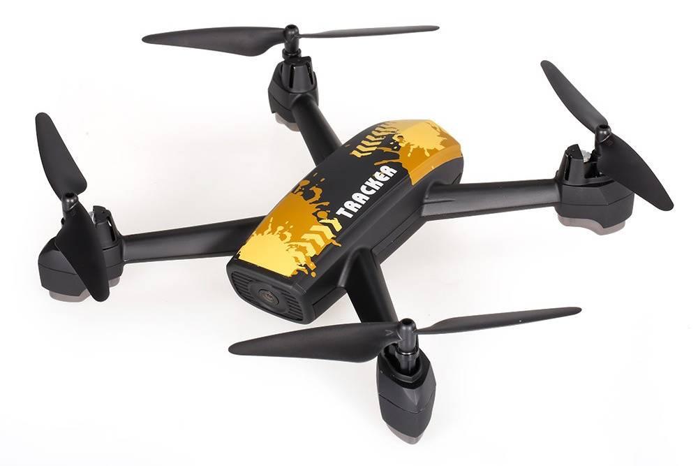 Квадрокоптер JXD Pioneer 518 черный/желтый - фото 2
