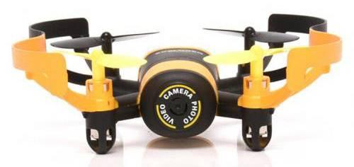 Квадрокоптер JXD Elfin FPV черный/желтый - фото 4