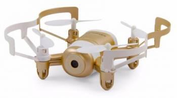 Квадрокоптер JXD Mini UFO Explorer FPV золотистый/белый