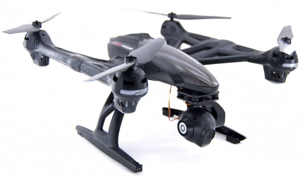 Квадрокоптер JXD Pioneer Knight WiFi черный - фото 1