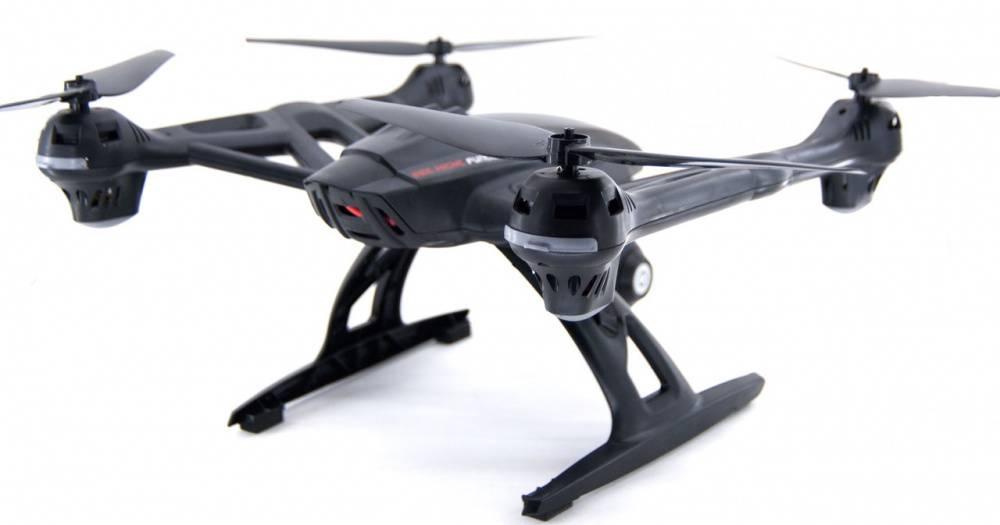 Квадрокоптер JXD Pioneer Knight WiFi черный - фото 2