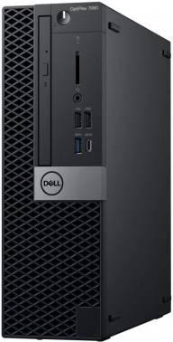 Компьютер Dell Optiplex 7060 черный/серебристый (7060-6177)