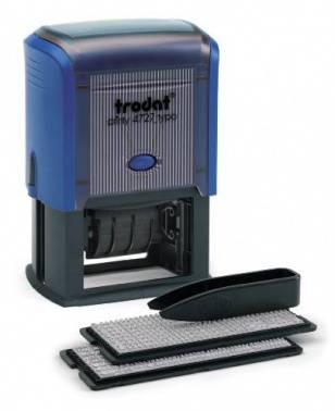 Датер Trodat 4727/DB TYPO PRINTY 4727 TYPO/DB11 пластик синий
