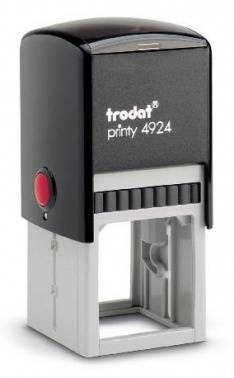 Оснастка Trodat 4924 PRINTY 4.0 металл/пластик черный