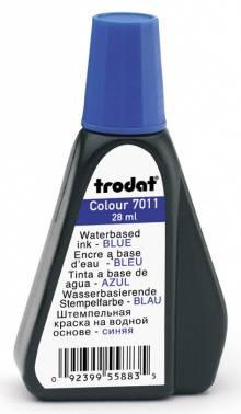 Краска штемпельная Trodat 7011 7011 BLUE/28ML