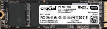 Накопитель SSD 1000Gb Crucial P1 CT1000P1SSD8 PCI-E x4