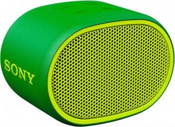 Колонка портативная Sony SRS-XB01 зеленый (SRSXB01G.RU2)