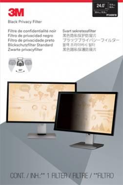 """Пленка защиты информации для ноутбука 24"""" 3M PF240W1B черный (7100026029)"""