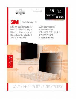 """Пленка защиты информации для ноутбука 12.5"""" 3M PF125W9B черный (7000015890)"""